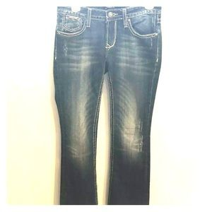 Rerock For Express Bootcut Jeans Size 2 Regular
